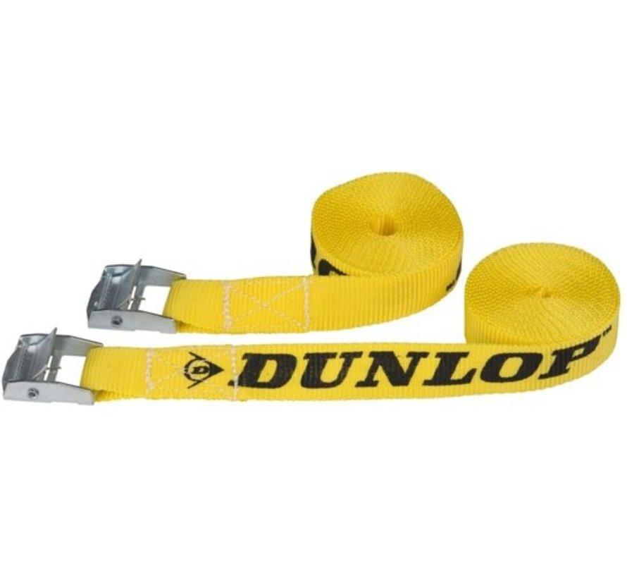 Dunlop straps 20 x 2500 Mm Pp 100 kg Yellow 2 Piece