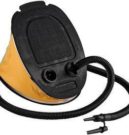 Voetpomp - geel - 5 liter - luchtpomp