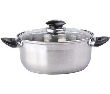 Kochgerät mit Deckel 18 x 8,5 cm 2L Kocher