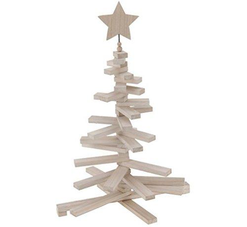 Decoratieve Kerstboom Hout - 70 cm