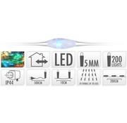 Draadverlichting - 10 Strengen - 200 leds - 7 meter - Multicolor