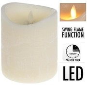 Candle Realistic Flame 10 x 12 cm