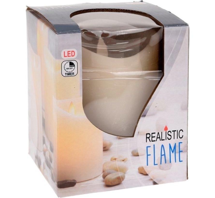 Kaars Realistic Flame 10 x 12 cm