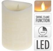Led Candle Flame Dance Ivory
