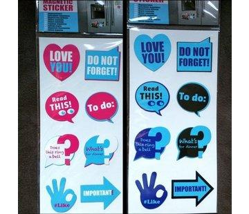 2 Sets Koelkast Magneet Stickers 16 Stuks