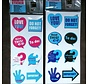 2 Sets Magnet Stickers 16 Pieces