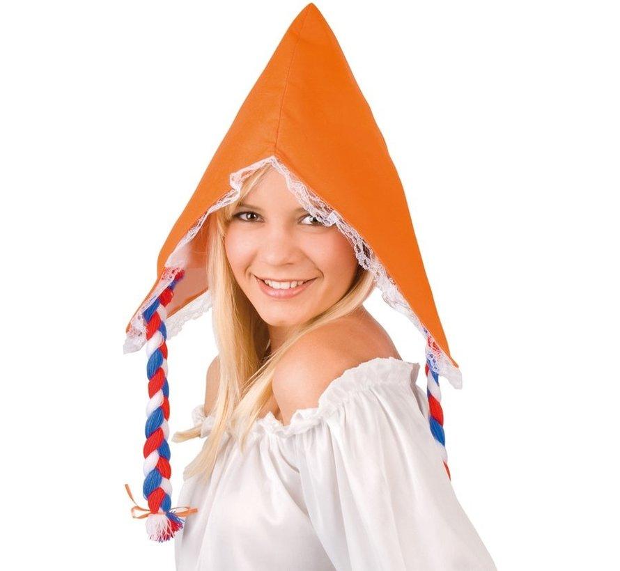 Boerinnenkapje - Oranje