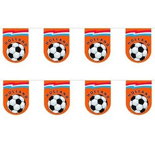 Vlaggenlijn Halfrond Voetbal 10M