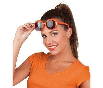 Partybril Julie - Oranje