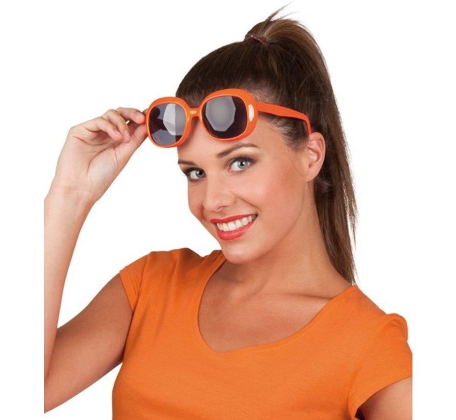 Party Brille Julie - Orange