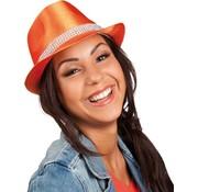 Popstar Hat Bling Bling - Orange