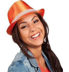 Hoed Popstar Bling Bling - Oranje
