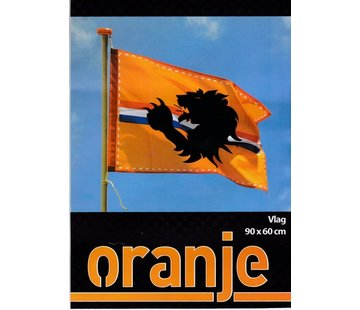 Fans Flagge orange | 60 x 90 cm