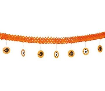 Under Hanger Orange garland with 4M
