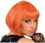 Perücke Cabaret orange
