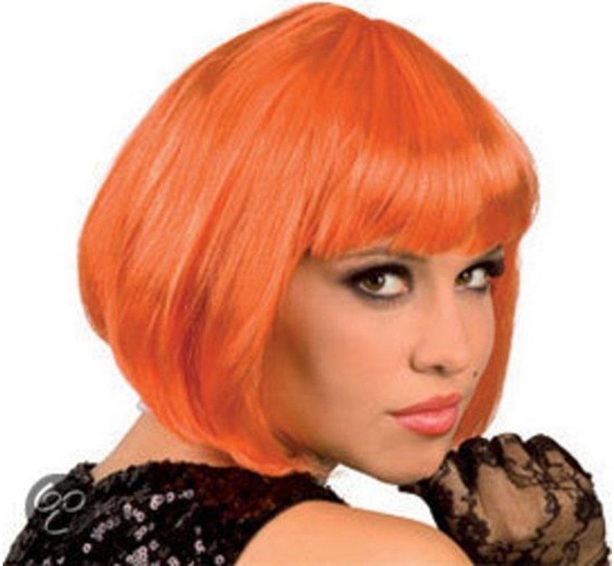 Wig Cabaret Orange