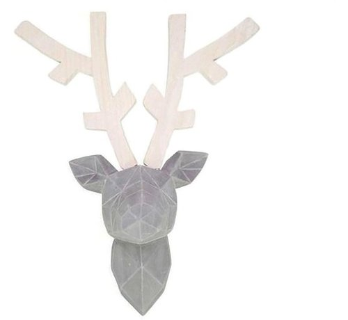 Deco reindeer 44 x 32,5 x 16,5 cm