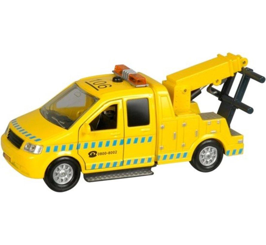 Afsleepwagen met Licht