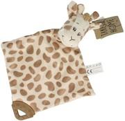 Knuffeldoekje Giraffe - 33cm