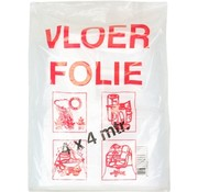 Afdekfolie - Vloerfolie - 4 x 4 M
