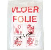 Afdekfolie - Vloerfolie - 4x4 m