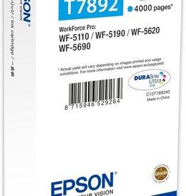 Epson T7892XXL - Inktcartridge / Cyaan / Extra Hoge Capaciteit