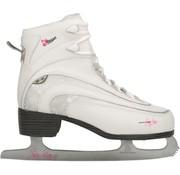 Nijdam Nijdam 0036 Zahl Skate klassischer Dekor - Soft Boot - Frauen - Weiß - Größe 39