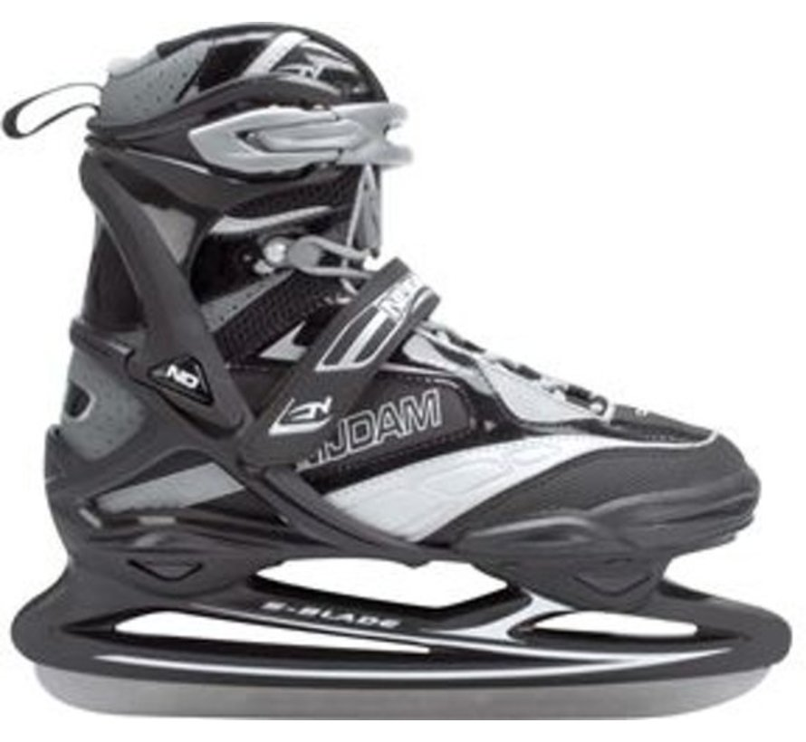 Nijdam Pro Line Hockey Skates - Ice Skating - Men - Black - Size 46