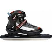 Nijdam Norwegians Nijdam Pro-Line Skates - Size 38- 47 - Black with Red And Gray