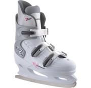 Nijdam Nijdam 0031 Figure Skate - Hard Boot - White - Size 37