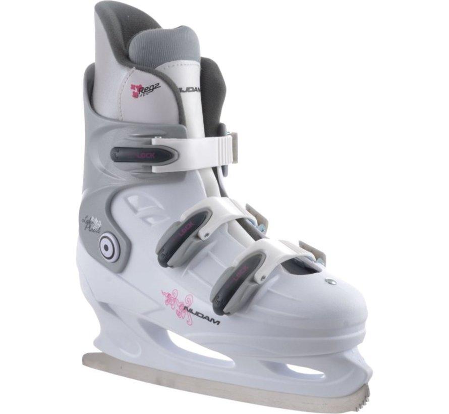 Nijdam 0031 Zahl Skate - Hard Boot - Weiß - Größe 39