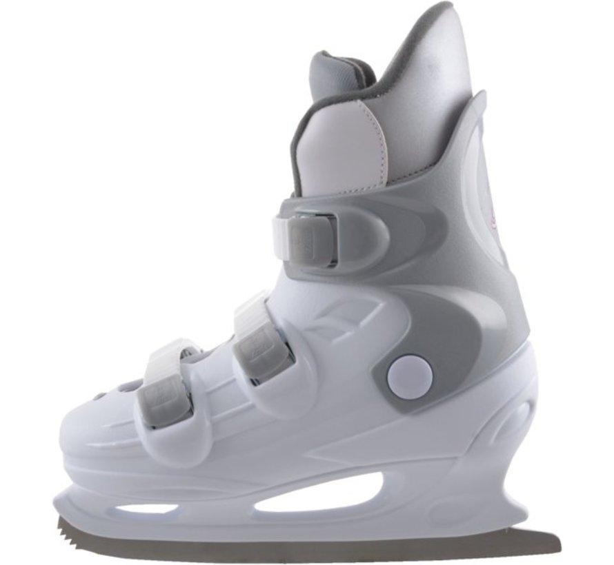 Nijdam Figure Skate Sr (Hard Boot) - 41 - White