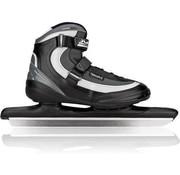 Nijdam Nijdam 3416 Norweger Skate Pro-Line - Softboot - Erwachsene - Schwarz / Grau - Größe 48