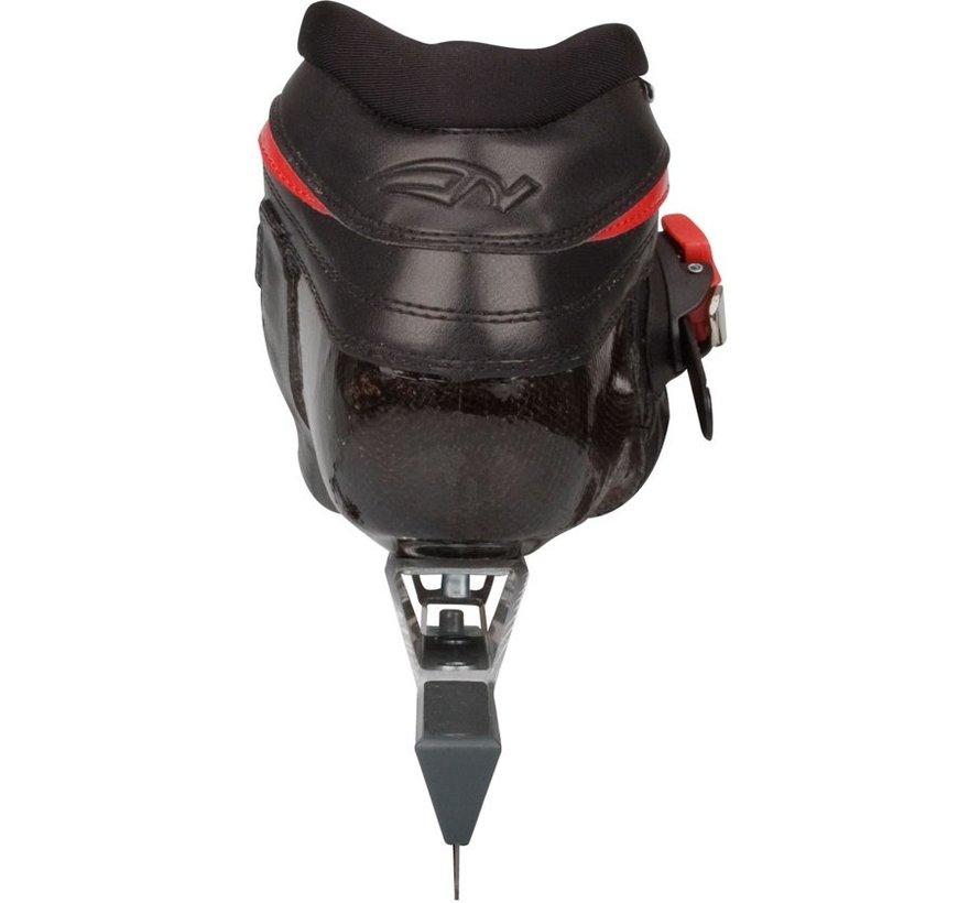 Nijdam 3420 Noren - Skating - Adult - Black / Red - Size 40