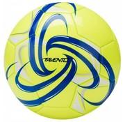 Avento Voetbal Glossy - Fluor - Fluorgeel/Kobalt/Wit/Zilver - 5