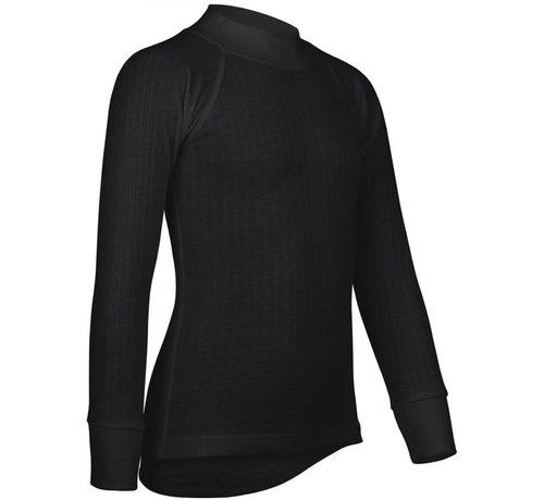 Avento Thermoshirt - Thermoshirt Lange Mouwen - Kinderen - 140 - Zwart