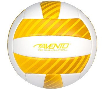 Avento Avento Volleyball - Leatherette - Gelb / Weiß