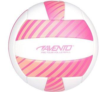 Avento Avento Volleyball - Kunstleder - Rosa / Weiß