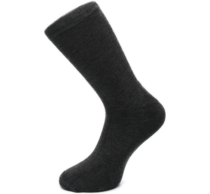 Bamboo Sokken | Verdikt Voetbed (Grijs) - Grijs - 35-38