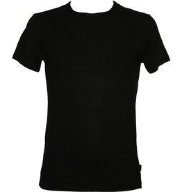 Boru Bamboo heren t-shirt mt. S zwart korte mouw ronde hals