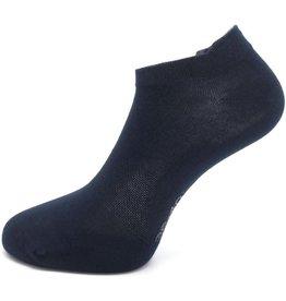 Boru Bamboe Sokken Short met lipje Marine (3 paar)-31/35