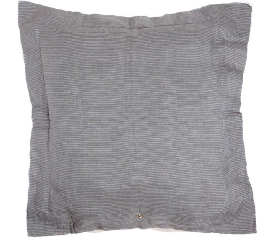 Stapelgoed Wolken - Kussenhoes - 75 x 75 cm - Grijs