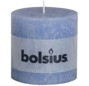 Rustic Pillar Candle 100/100 Blue Jeans