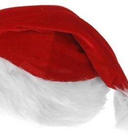 Kerstmuts - Kinderen - Rood/wit