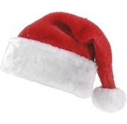Kerstmuts - rood/wit - 40cm