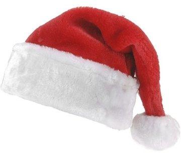 Kerstmuts - Rood/Wit - 40 cm