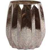 Decostar waxinelichthouder -  Glas - 11x11x13cm