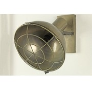 Decostar Wandlamp - E14 im Gold - 34,5 x 31,5 x 36,5 cm