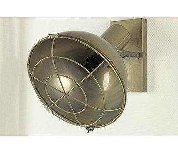 Decostar Wandlamp - E14- Goud - 34,5 x 31,5 x 36,5 cm