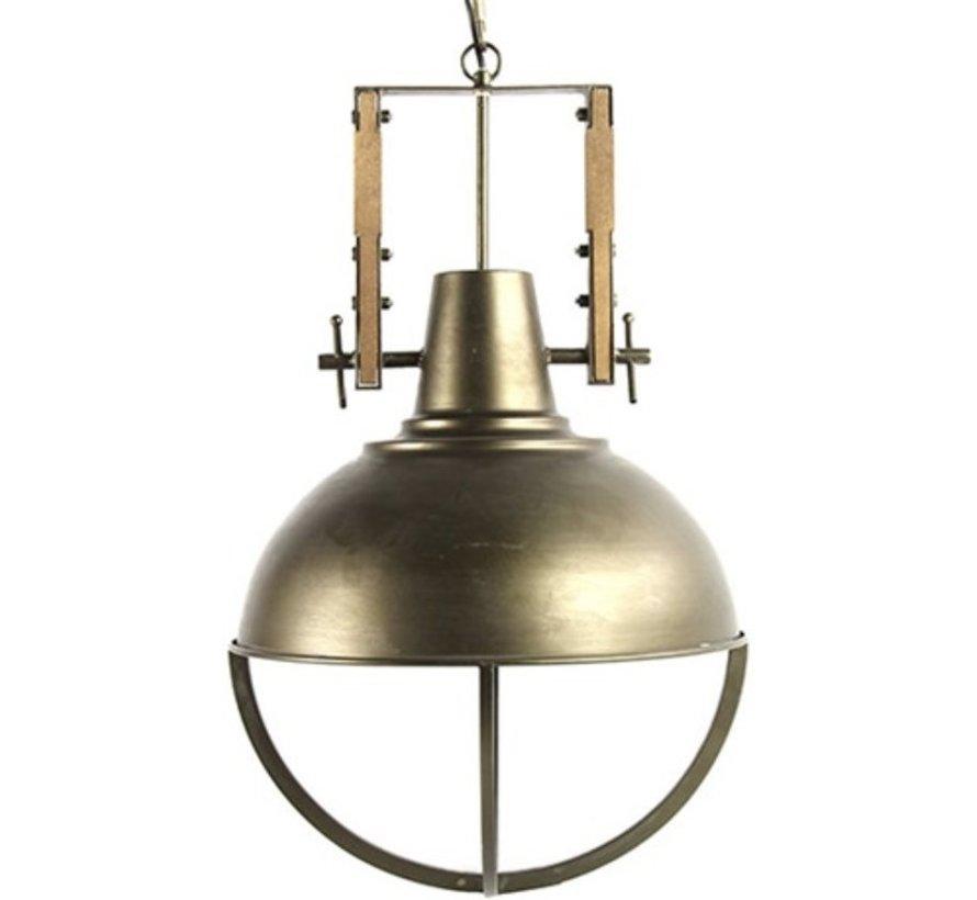 Hanglamp E27 Mattijn S Grijs - 41,5 x 41,5 x 175 cm